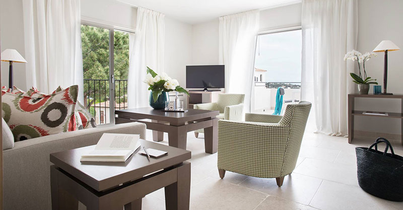 Appartement 2 chambres mer h tel la villa calvi for Hotel appartement corse